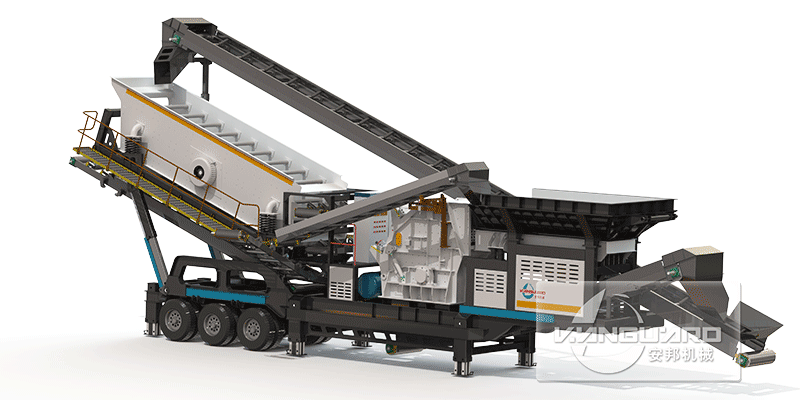 VPM-3 Combined Mobile Crushing Plant