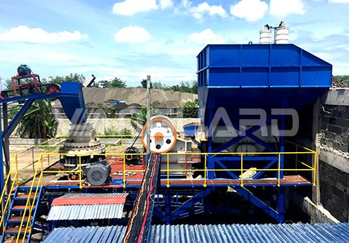 100 T/H Stone Crushing Production Line in Malaysia