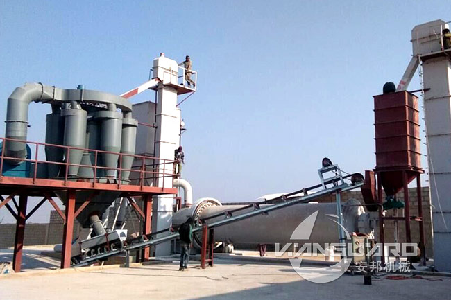 Ball Mill for Quartz Sand Processing in India